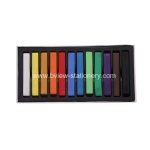 12 color soft pastel/temporary hair chalk